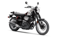 The All‑New SCR950 – All‑new SCR950 combines vintage, scrambler styling with modern engineering. Potent 942cc V‑Twin, spoke wheels, high rear fender.